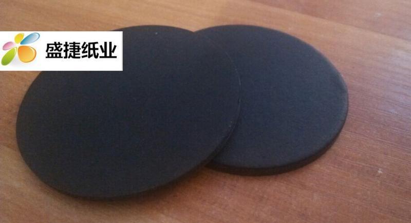双面黑卡纸全木浆黑卡纸黑色牛皮纸