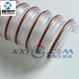 意大利IPL/VC壁厚1.5mm内径45mm耐磨聚氨脂镀铜钢丝吸尘软管