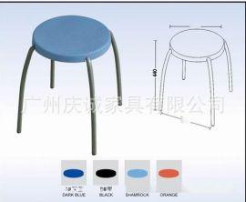 生产批发广东品牌圆凳,塑料圆凳,实木日子凳,不锈钢圆凳