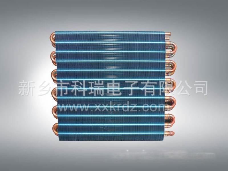 KRDZ供應銅管鋁翅片蒸發器冷凝器45圖片型號規格