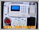 GSM+PSTN電話線雙網防盜報警器
