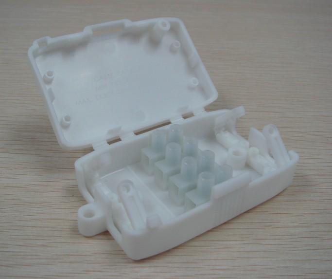 接線盒配4位端子臺