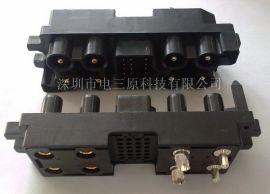 A型开关模块电源连接器 热插拔端子 32芯