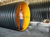 内部光滑钢带排污管 大口径钢带波纹管
