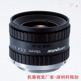 工业镜头500万像素分辨率16mm工业镜头