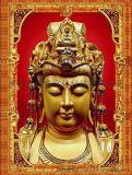 卓特製作大型規格200*300三維立體佛像畫立體宗教畫