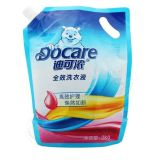 华迪自立吸嘴式2KG洗衣液软包装袋