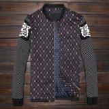 广州男士夹克服装厂 男式外套批发定做