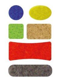 厂家供应冲型背胶魔术贴 高品质文具 塑胶 皮具  背胶魔术贴