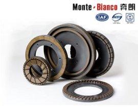 陶瓷砖磨边轮金属结合金刚石盘式磨边轮奔朗厂家直销金刚石磨边轮