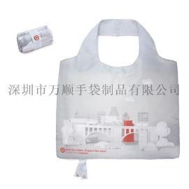 女式休闲购物袋可折叠方便携带手提袋可定制环保袋超大号购物袋