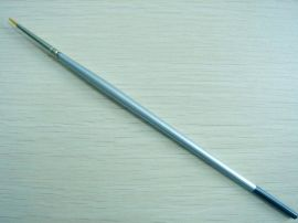 211化纤丝毛银色木杆画笔