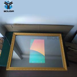 歐視顯浴室智慧電視鏡子安卓網路鏡面防水電視機