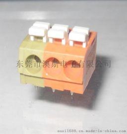 WAGO接线端子5.0MM间距DG222免工具连接器FS804