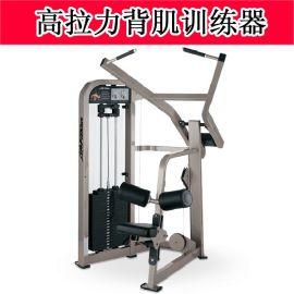 高拉背肌训练器 室内商用健身器材