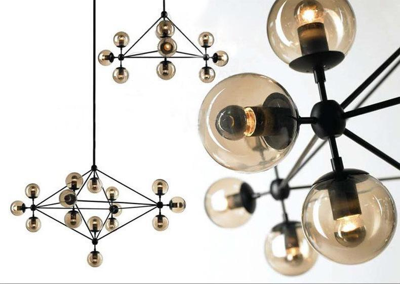 Modo 魔豆分子吊燈簡約客廳燈