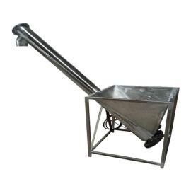 细粉料管式上料机 污泥用螺旋提升机qc