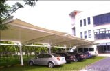 权隆安防膜结构停车棚、品质保证
