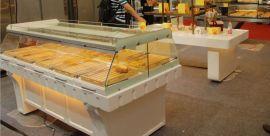 上海美的欧式烤漆面包展示柜