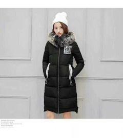 外贸服装批发时尚爆款冬季大长款男女棉服供应打底衫5元起批