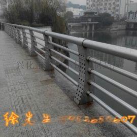 耀恒 供应复合管景观桥栏杆 不锈钢桥梁防撞栏杆 桥梁立柱