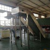 德隆定制PVC皮带输送机,面粉颗粒皮带爬坡运输线