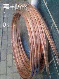 防雷接地铜包钢接地极,惠丰镀铜钢接地棒施工案例