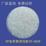 PP吹膜用爽滑母粒、开口剂、防静电吸附、薄膜防粘连 YP-063P