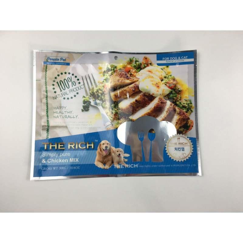 定做尼龙复合袋彩印袋宠物食品彩袋 免费设计排版
