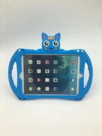ipad air2保护套硅胶_ipad air/pro9.7卡通硅胶保护套_专为熊孩子设计