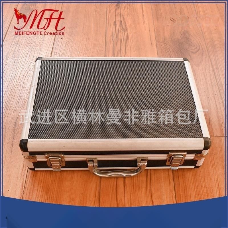 工廠定做鋁合金電腦金屬多功能手提箱批發高檔精密儀器工具箱價優