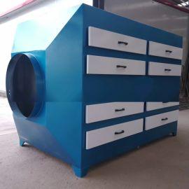 莱西制鞋厂车间废气治理,活性炭吸附箱厂家