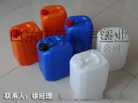 慧宇10升堆码塑料桶 10公斤化工桶食品桶