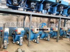 青岛厂家小型抛丸机,小型除锈机,小型打磨机