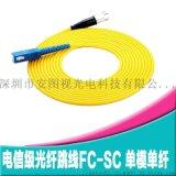 单模单芯光纤跳线FC-FC/FC-SC/SC-SC