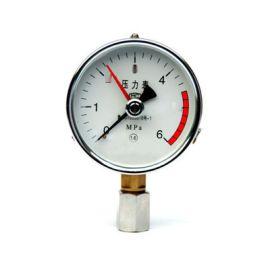 耐震充油壓力表YN-100B不鏽鋼耐震壓力表