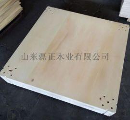 现货供应打孔地台板杨木4公分展览展会搭建使用地台板