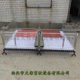 吉林熱鍍鋅仔豬育肥牀保育牀廠家複合板保育欄規格定做
