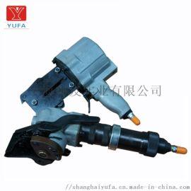无缝管钢带打包机 锌合金镁合金气动打包机 不锈钢管钢带打包机
