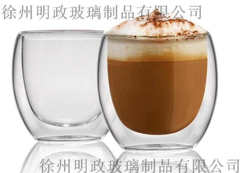 耐高溫透明玻璃蛋形杯廠家 早餐咖啡杯廠家