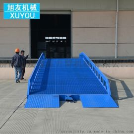 移动液压装卸平台移动式登车桥移动升降装卸台