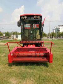 青储收获机,自走式穗茎兼收玉米收获机