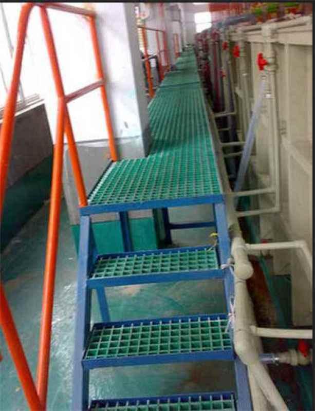 玻璃鋼格柵地面 工程網格板格柵安裝方式