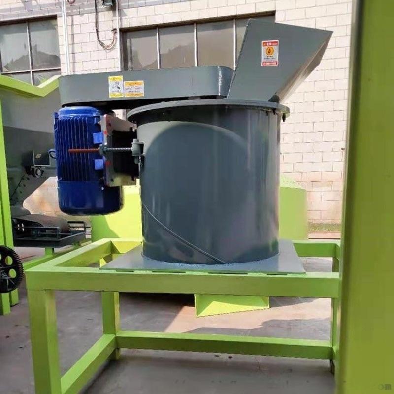 5吨耐磨立式粉碎机 有机肥链板猪粪粉碎机 果树猪粪垃圾粉碎机