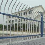 锌钢护栏厂区别墅围栏铁艺插孔式护栏
