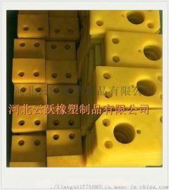 厂家加工 聚氨酯制品 聚氨酯垫块 耐磨胶块