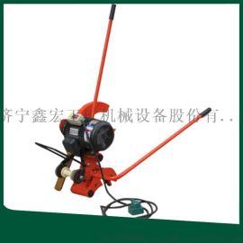 电动钢轨切轨机 铁路钢轨切割机 电动轨道锯