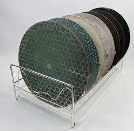 金相专用置物架 磨抛盘置物架 金相不锈刚置物架 川禾TRUER