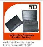 皮具厂专业生产定制真皮名片夹名片包牛皮卡包 定制LOGO