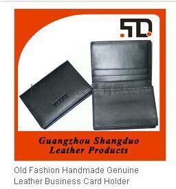 皮具廠專業生產定製真皮名片夾名片包牛皮卡包 定製LOGO